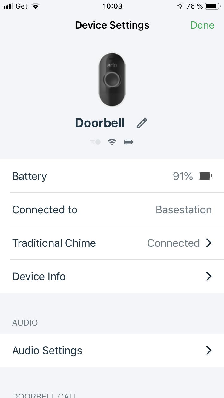 Arlo Doorbell does not work with broan door chime - Arlo Communities