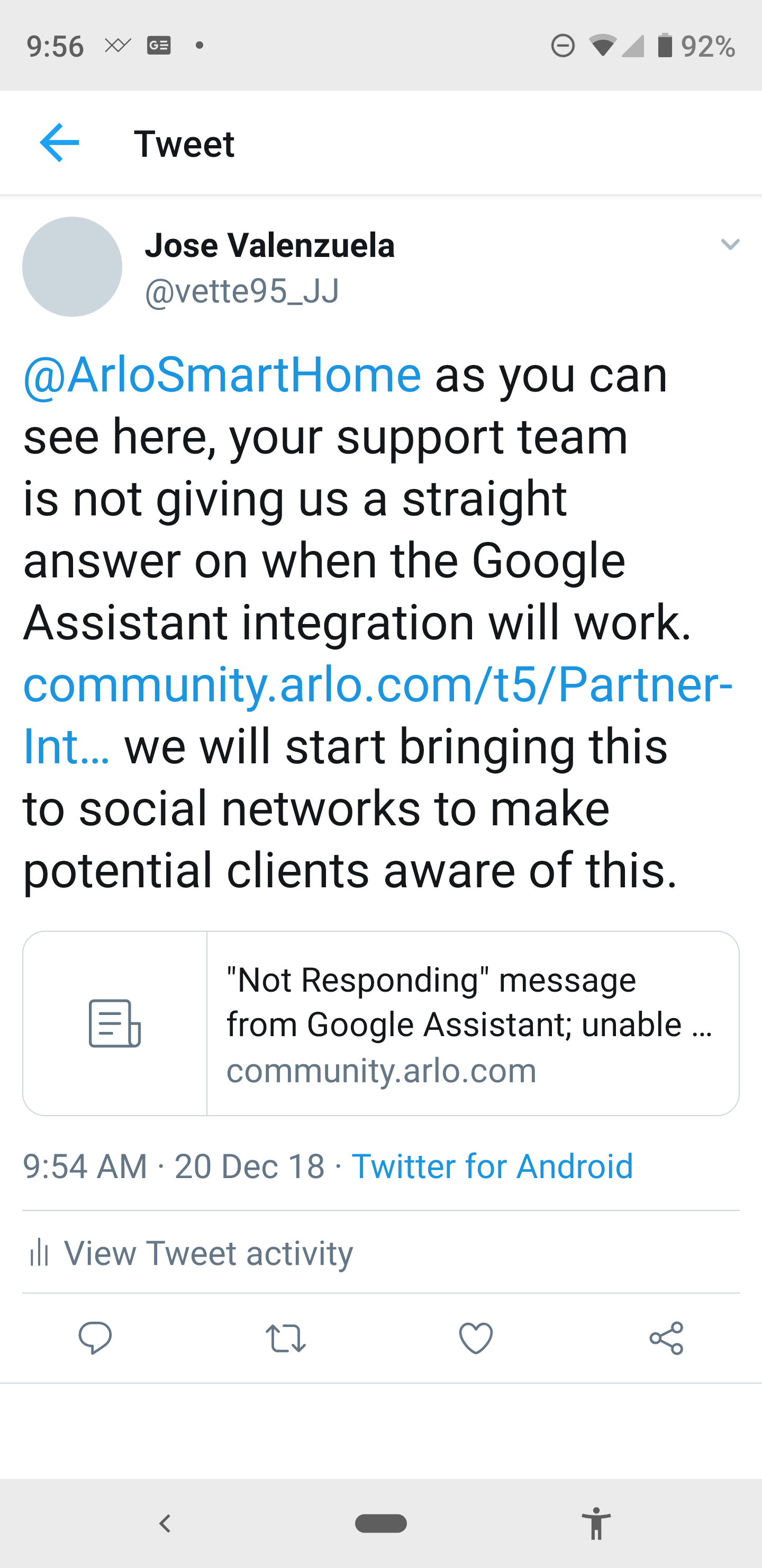 Re: Able to view livestream on Google new smart di    - Page 4