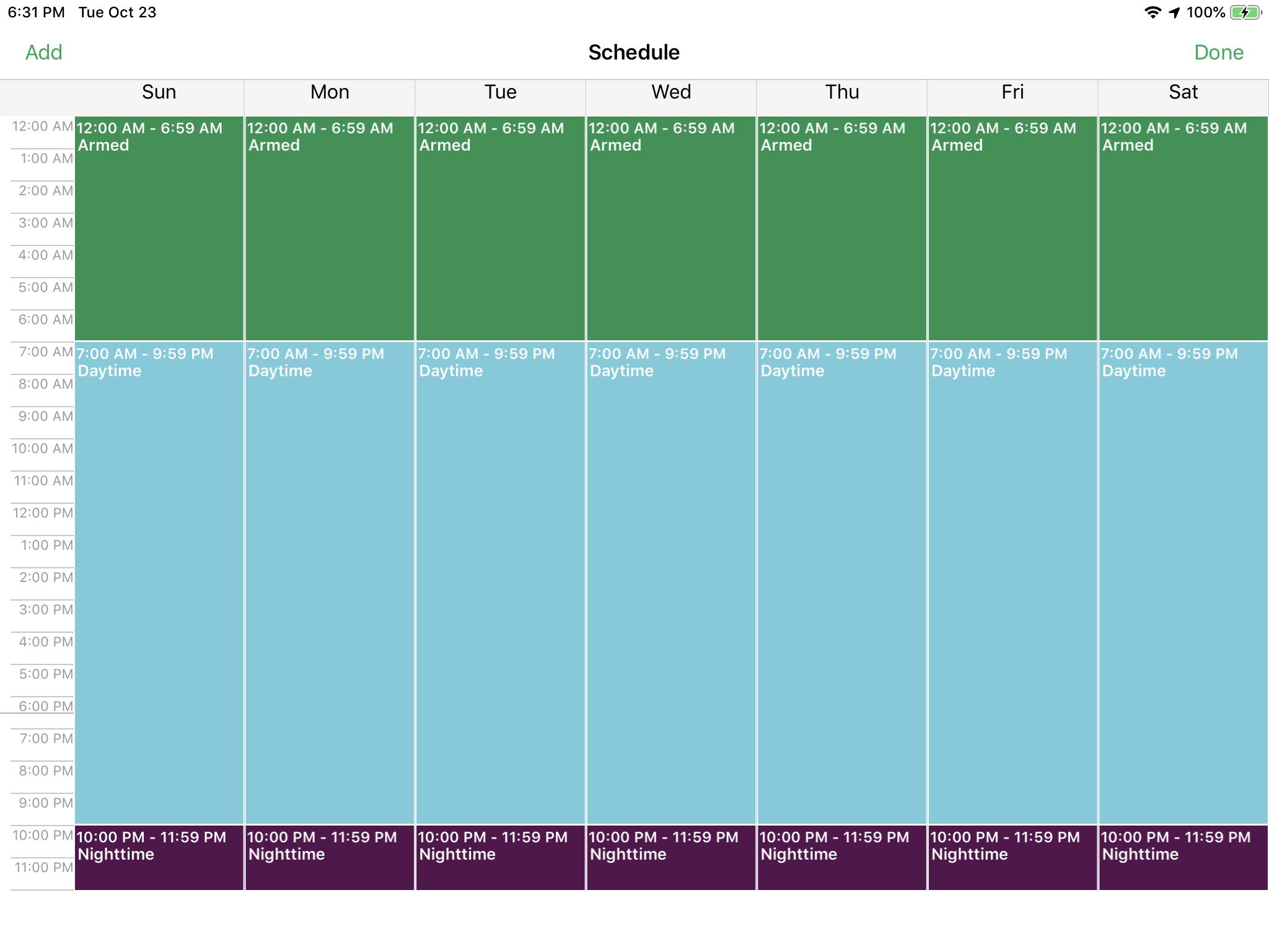 Arlo Pro 2 schedule not working - Arlo Communities