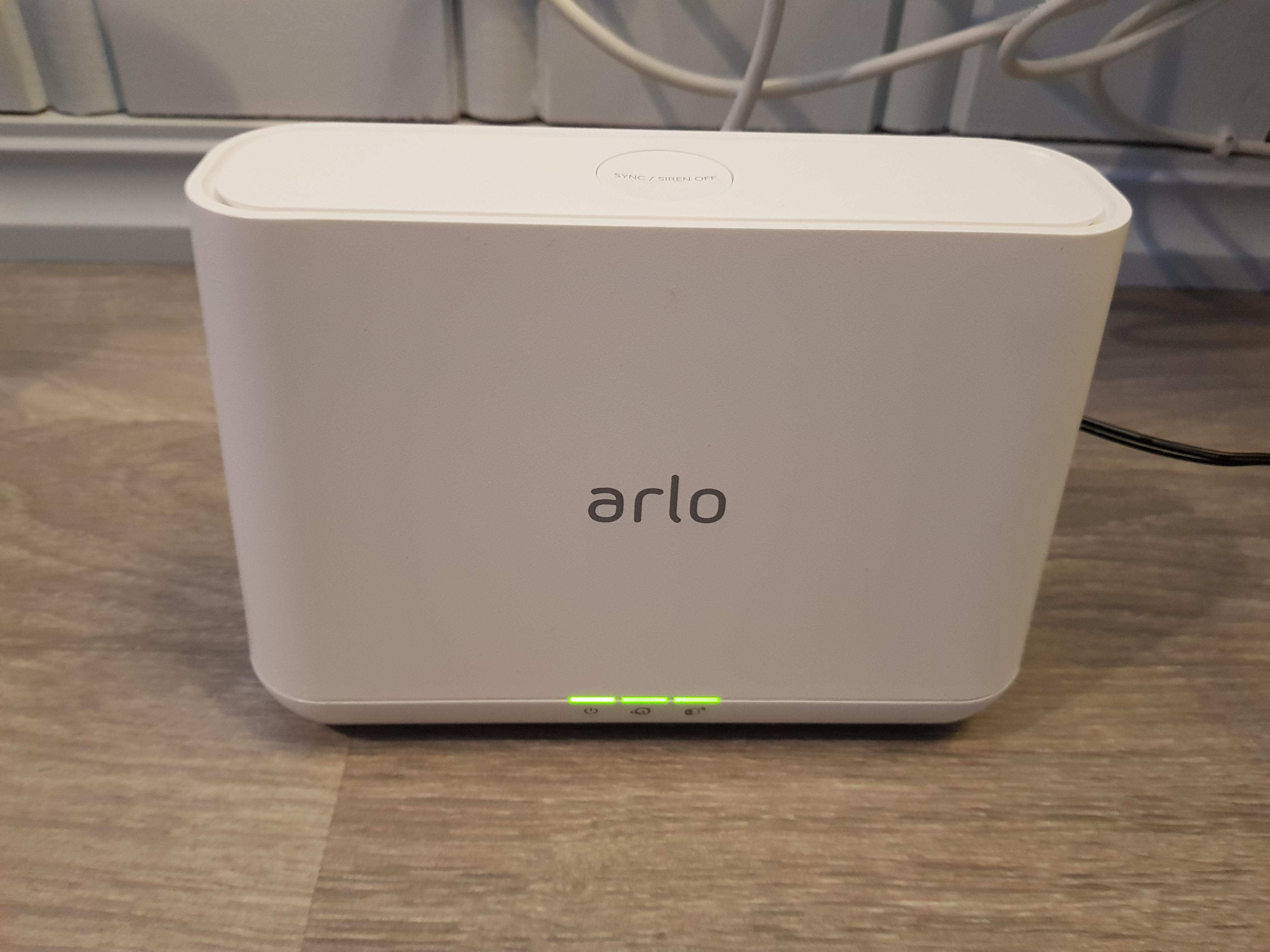 arlo pro2 base station