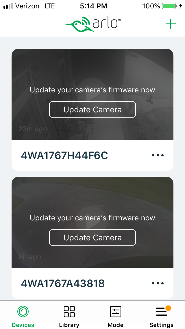 how to update firmware arlo base station