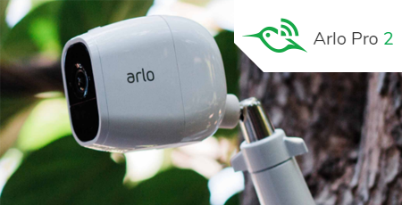 Arlo Pro 2 - 1080p HD Security Camera With Total Flexibility