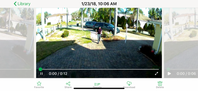 Brother getting out of car and walking towards front door