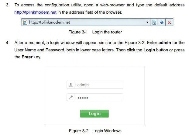 accesso configurazione router