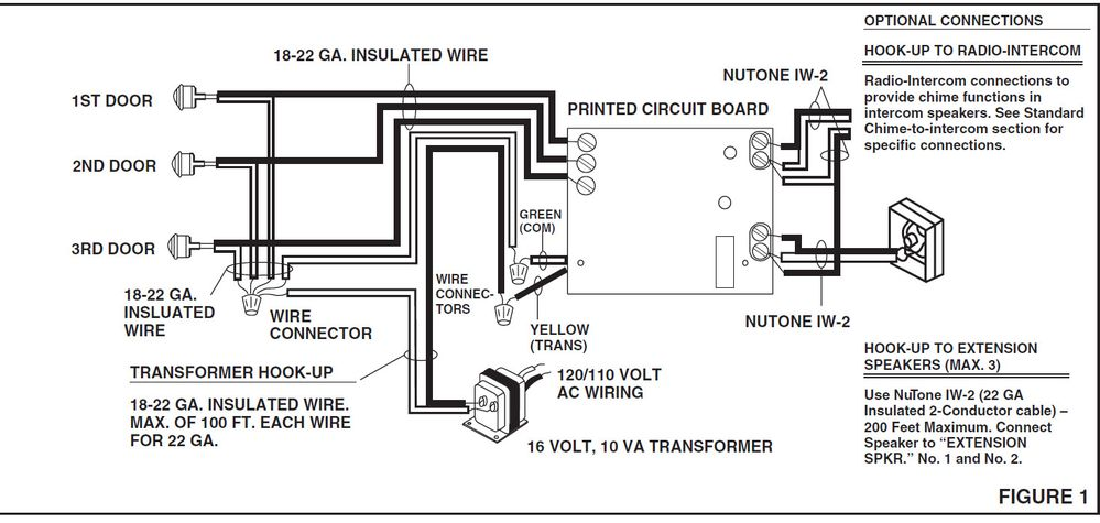 Doorbell Wiring Diagram Two Chimes from community.arlo.com