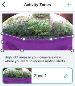 Video mode 180, zone 1 set