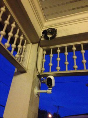 Porch camera cable lock.JPG