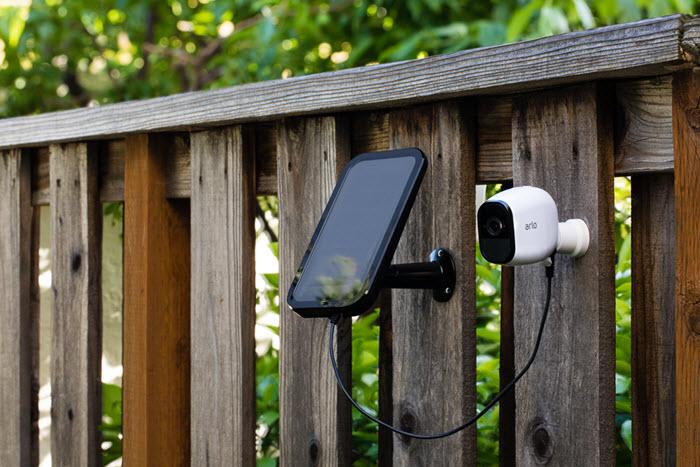 3rd party portable solar panel - Arlo Communities