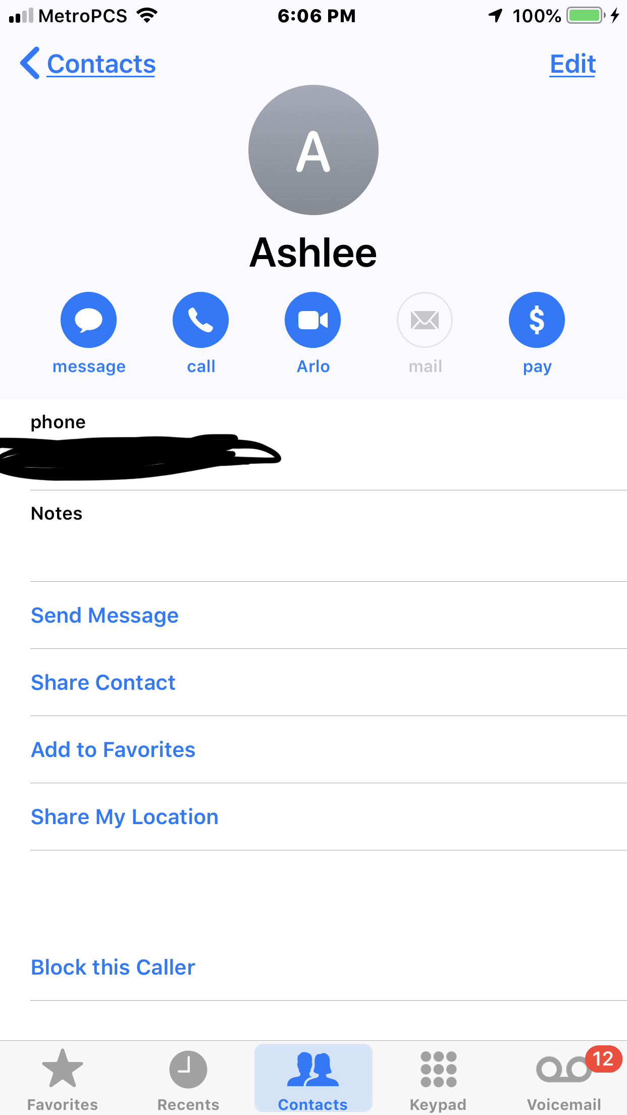 Solved: Why do some iOS contacts have an