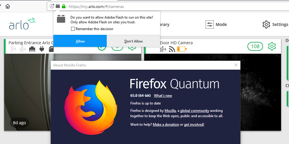Arlo Flash Firefox 65.PNG