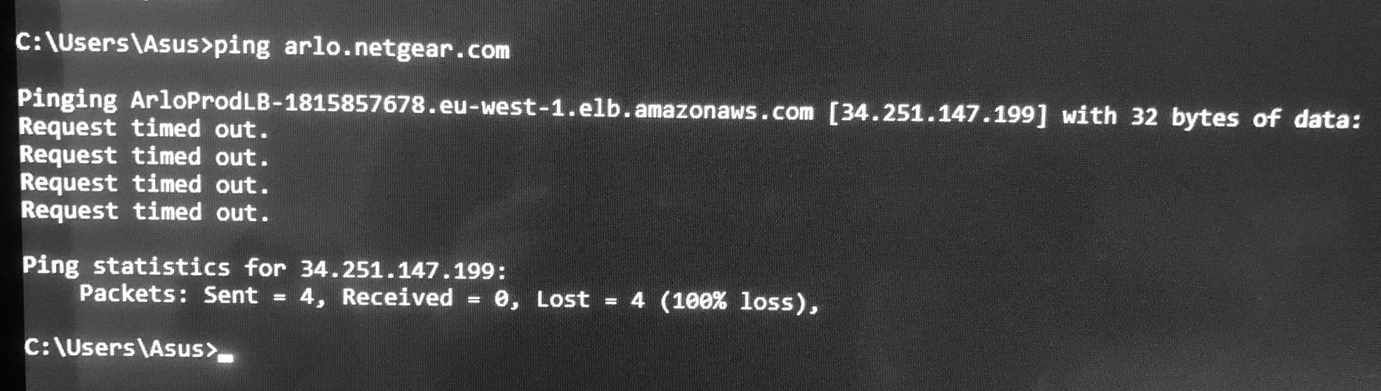 Arlo Pro2 Library issue message server hostname no    - Arlo