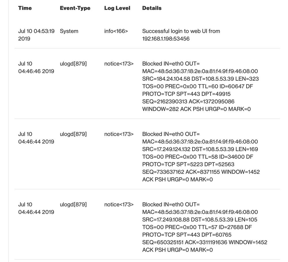 verizon fios router g1100 security log.png